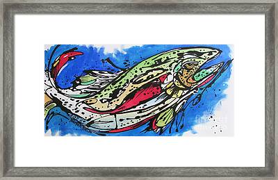 Framed Print featuring the painting Cutty by Nicole Gaitan