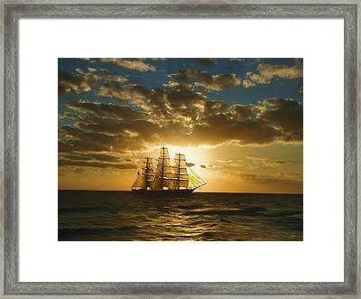 Cutty Sark Framed Print by Dale Jackson