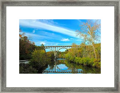 Cuyahoga Valley Scenic Railroad - Brecksville Station Framed Print