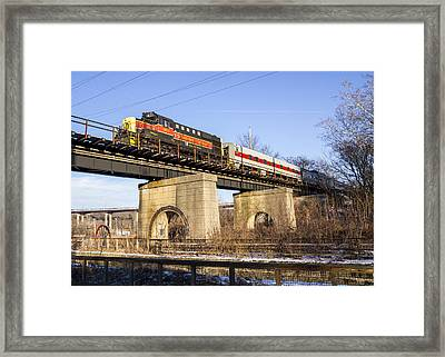 Cuyahoga Valley Scenic Rr  Framed Print