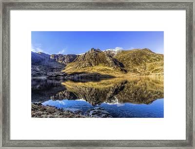 Cwm Idwal Framed Print by Ian Mitchell