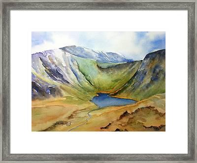 Cwm Idwal Snowdonia Framed Print