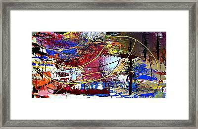 Framed Print featuring the painting Cy Talyc Pronounced Sigh-talick by Cyryn Fyrcyd