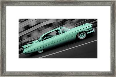 Cyan Caddy Framed Print by Phil 'motography' Clark