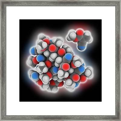 Cyanoacrylate Polymer Framed Print