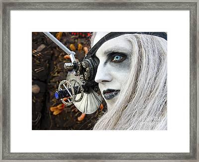 Cyber Borg Mister Roboto 1 Framed Print