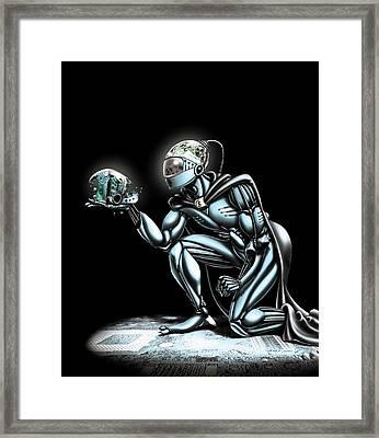 Cyborg Framed Print by Harald Ritsch