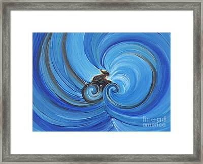 Cycle By Jrr Framed Print