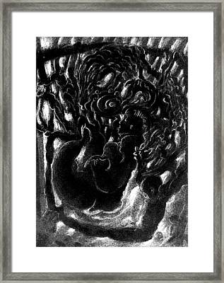 Cycle In Process Framed Print by Nicole Lemelin
