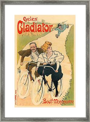Cycles Gladiator Framed Print by Gianfranco Weiss