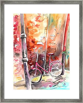 Cycling In Italy 02 Framed Print