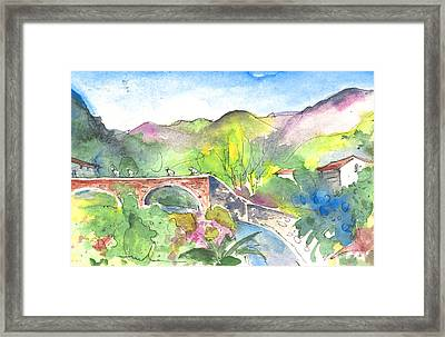 Cycling In Italy 05 Framed Print by Miki De Goodaboom