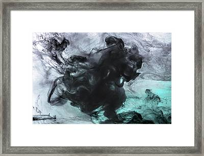 Cyclist Framed Print by Petros Yiannakas