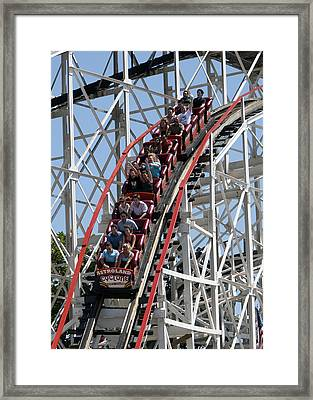 Cyclone 1 Framed Print by Jim Poulos