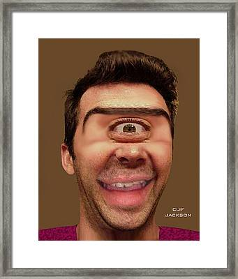 Cyclops Cramer Framed Print by Clif Jackson