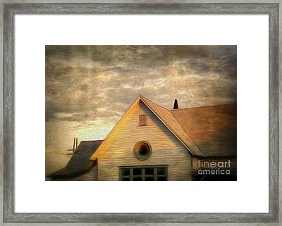 Cyclops House Framed Print by Gregory Dyer