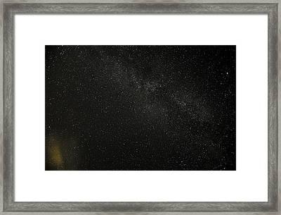 Framed Print featuring the photograph Cygnus  Deneb  Vega by Greg Reed