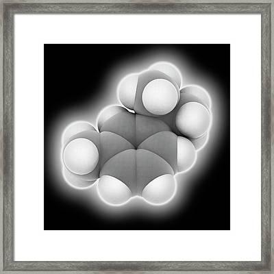 Cymene Molecule Framed Print by Laguna Design