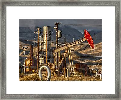Framed Print featuring the photograph Cymric Field I by Lanita Williams