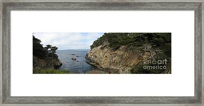 Cypress Cove Panorama Framed Print