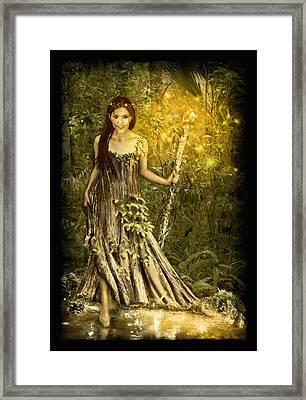 Cypress Queen Framed Print
