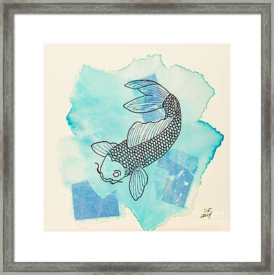 Cyprinus Carpio Framed Print