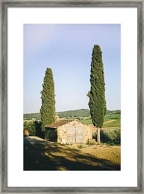 Cyprus Pair Framed Print