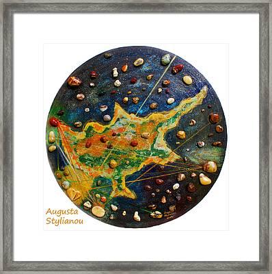 Cyprus Planets Framed Print