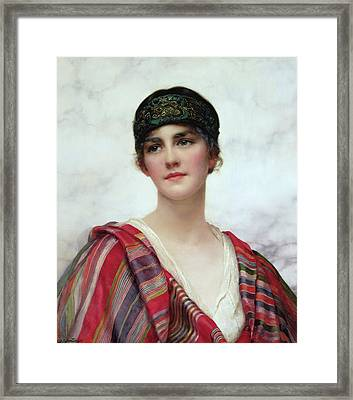Cyrene Framed Print by William Clark Wontner