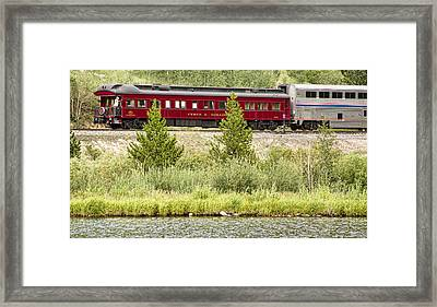 Cyrus K  Holliday Private Rail Car Framed Print by James BO  Insogna