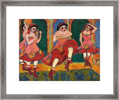 Czardas Dancers Framed Print by Mountain Dreams