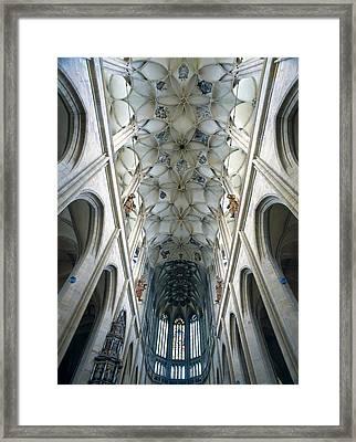Czech Rep.. Kutna Hora. St. Barbara Framed Print