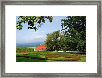 Czech Republic, Cesky Krumlov Framed Print by Jaynes Gallery