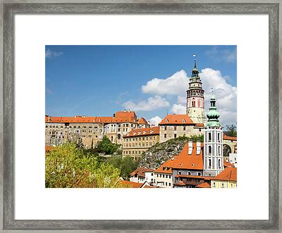 Czech Republic, Chesky Krumlov Framed Print