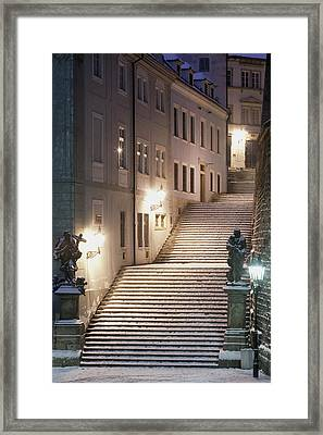 Czech Republic, Prague - Lesser Quarter Framed Print
