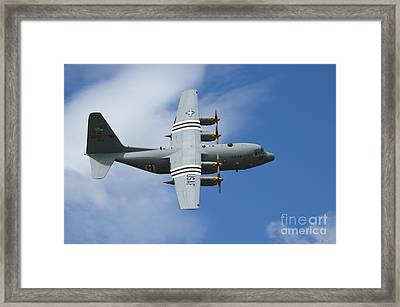 D-day C-130 Framed Print by Tim Mulina
