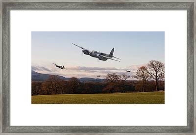 D H Mosquito - Intruder Ops Framed Print