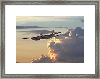 D  H Mosquito - Pathfinder Framed Print by Pat Speirs