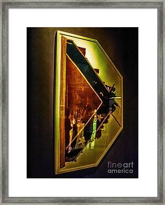 D Is For Dixie Framed Print by Arne Hansen