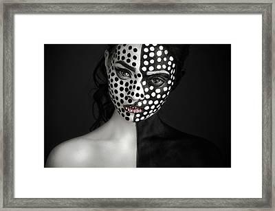 D O T S Framed Print