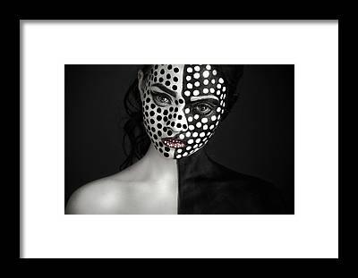 Face Paint Framed Prints
