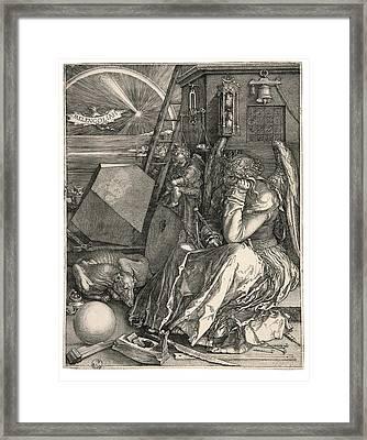 D Rer Albrecht, Melencolia Imelancholia Framed Print by Everett