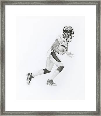 D Thomas 88 Framed Print
