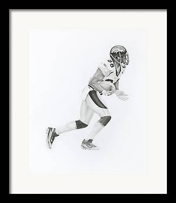 Denver Bromcos Framed Prints