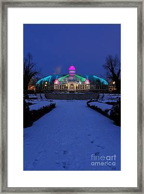 D5l287 Franklin Park Conservatory Photo Framed Print