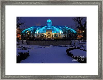 D5l-291 Franklin Park Conservatory Photo Framed Print