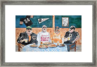 Da Bears Framed Print by Brian Degnon