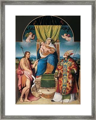 Da Ponte Jacopo Know As Bassano Framed Print by Everett