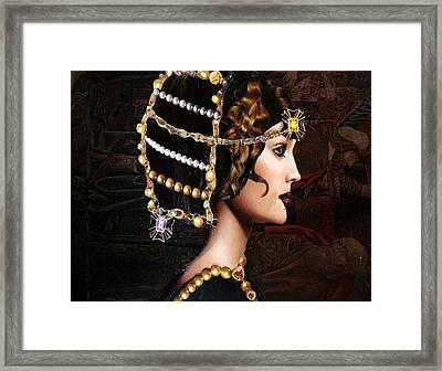 da Vinci Art Framed Print by Diane Cassone