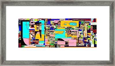 Daas 4 Framed Print by David Baruch Wolk